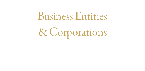 Business Entities Partnerships